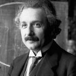 Albert Einstein (foto retirada da Wikipédia)