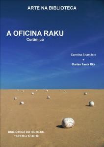 Cartaz Oficina Raku