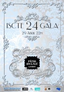Cartaz da XXIV Gala ISCTE