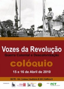 Cartaz do Colóquio