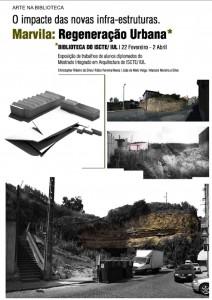 Cartaz Marvila: Regeneração Urbana