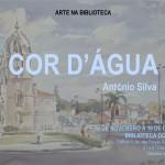 Cartaz da Exposição «Cor d'Água»