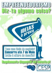Cartaz do concurso