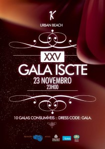Cartaz da Gala